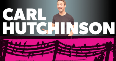 Comedy Night with Carl Hutchinson , Saturday 27th October – doors 7:30pm