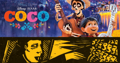 Coco (PG): Tuesday 23rd October 3pm Games or Die from 1pm