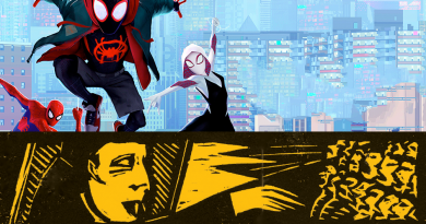 Spider-Man: Into The Spider Verse (PG): Sunday 9th June Start 6pm