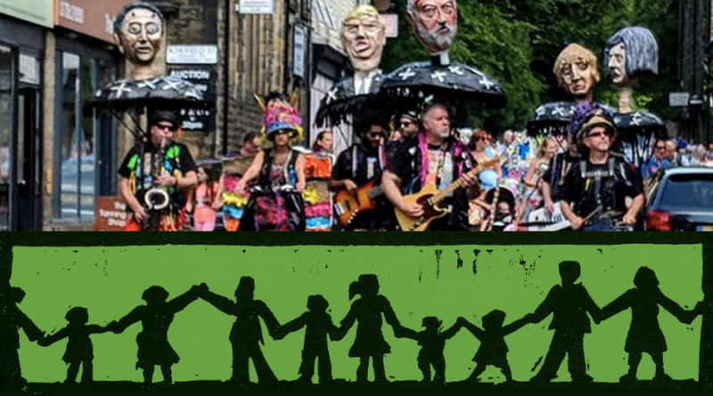 Waterfoot Wakes Parade Workshops: Saturday 1st June 1pm – 4pm (weekly until 15th June)