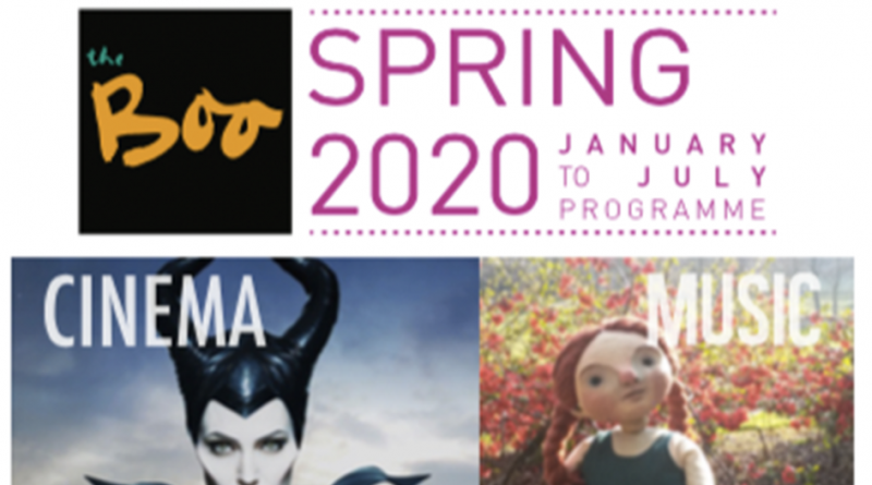 SPRING 2020 AT THE BOO!