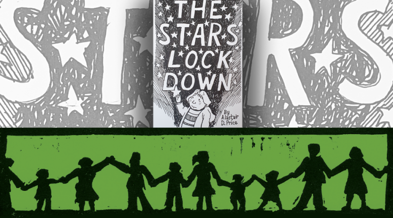 The Stars Lock Down Christmas Graphic Novel