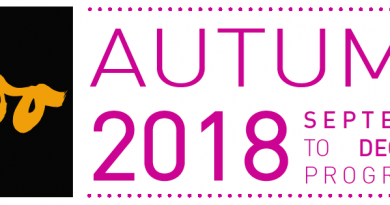 Autumn at The Boo: September – December programme 2018