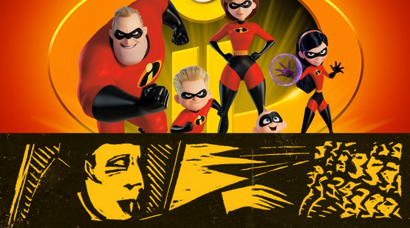 The Incredibles 2 (PG) + Games or Die Sunday 27th January 3pm (Games or Die from 1pm)