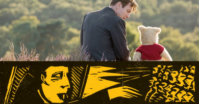 Christopher Robin + Games or Die: Sunday 7th April 1pm